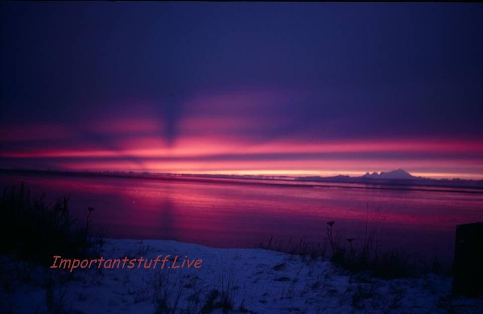 SunsetMtIlliamna